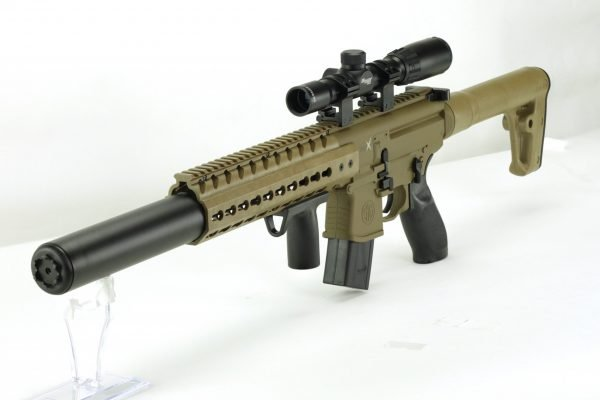 Sig Sauer MCX Air Rifle 1X4X24 Scope FDE 4