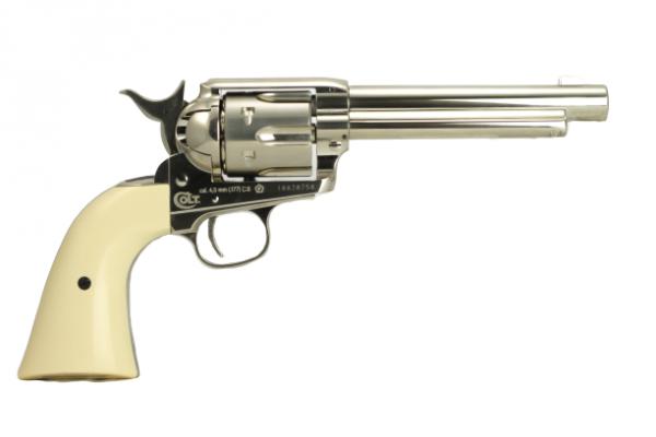 Umarex Colt Peacemaker SAA 45 Nickel 1