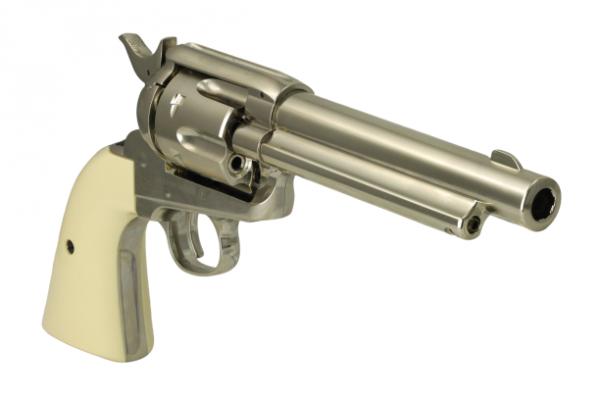 Umarex Colt Peacemaker SAA 45 Nickel 4